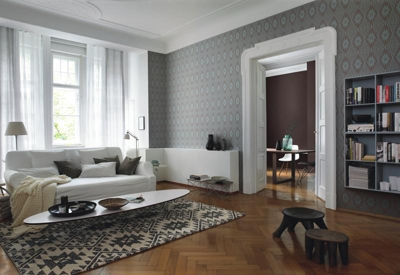 Ryškūs šiaurietiški ornamentai ir skandinaviškas minimalizmas. Rasch collection