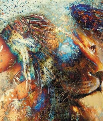 Lion Woman