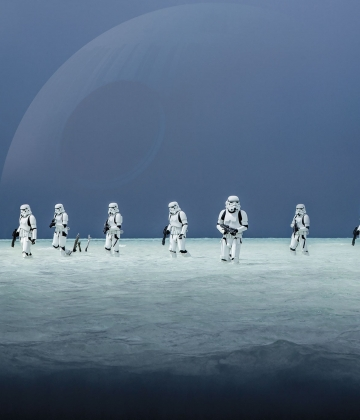 STAR WARS SCARIF BEACH